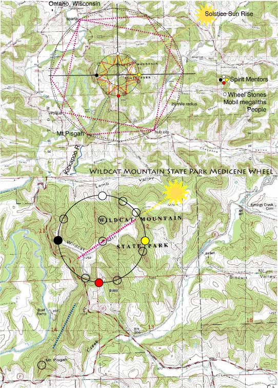 Ley Lines Colorado Map.Geology Patterns North America